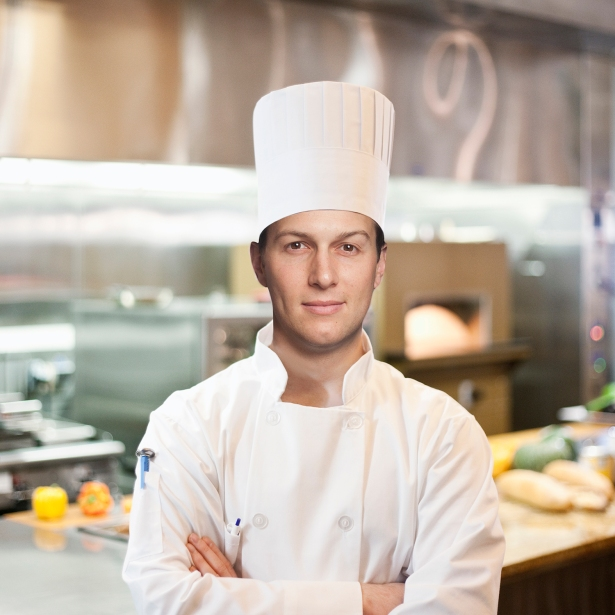 Kushner Companies' Jared Kushner (also CO's publisher) said he would be a chef.