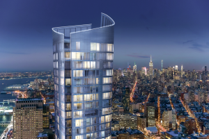 Plaza is working on 111 Murray Street with Fisher Brothers  and The Witkoff Group.