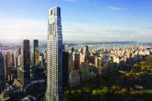 220 Central Park South designed by Robert A.M. Stern for Vornado Realty Trust.