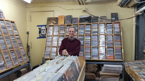 Downtown Music Gallery owner Bruce Lee Gallanter has struggled with business while at 13 Monroe Street in Two Bridges. Photo: Lauren Elkies Schram