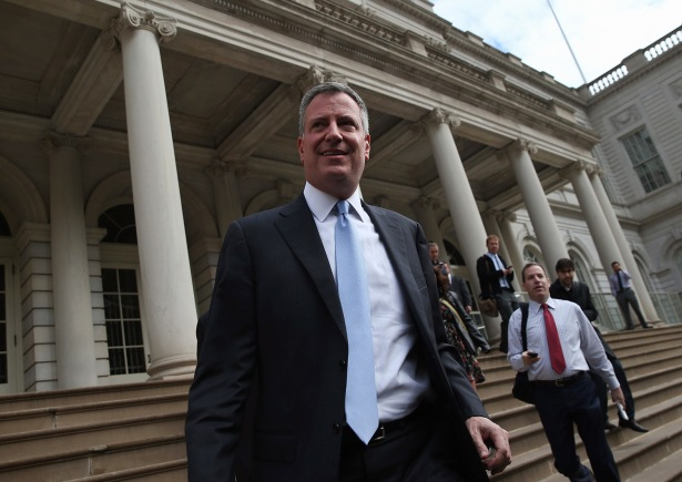 Mayor Bill De Blasio. Courtesy: Getty Images.