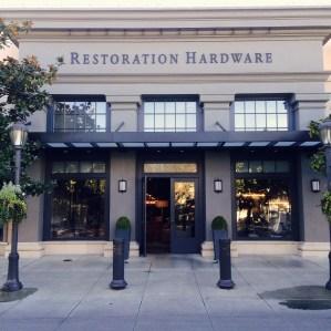 A Restoration Hardware, retail store in Seattle.