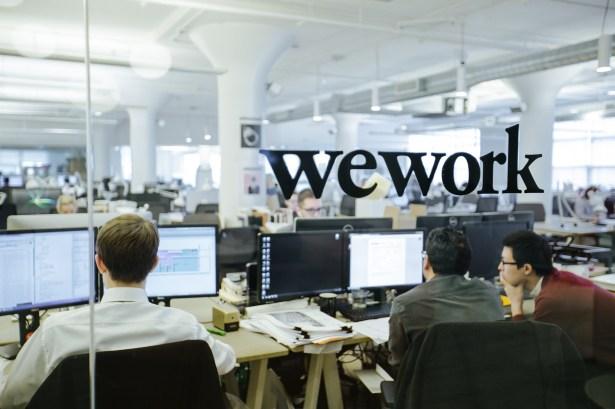 WeWork Soho West. PHOTO courtesy: WeWork.