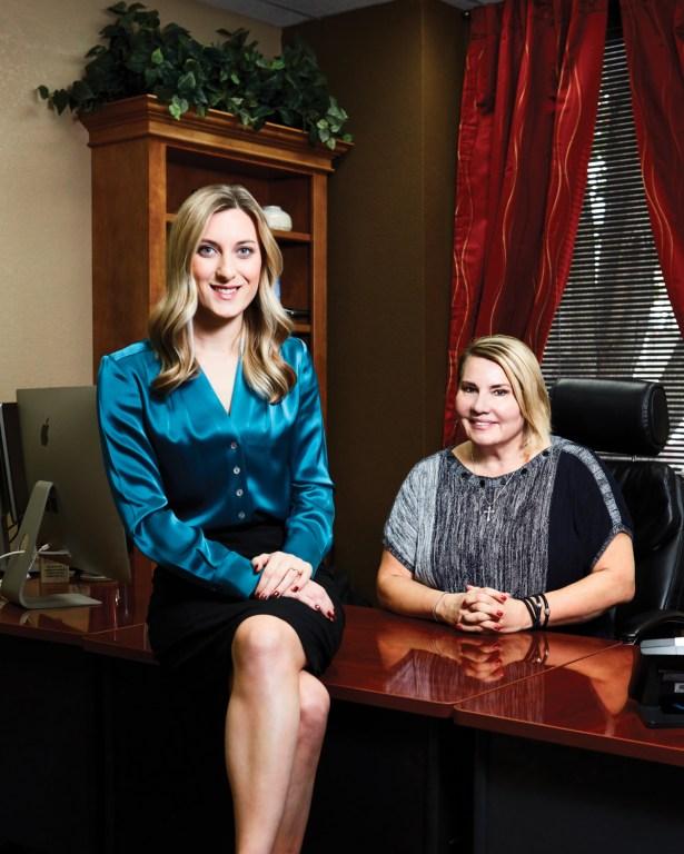 Stephanie Whittington and Ann Hambly. Photo: Sebron Snyder.
