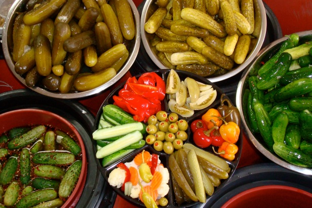 PICKY PICKLES: Alan Kaufman's The Pickle Guys has maintained a strong pickle business on the Lower East Side.