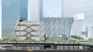 The Shed at Hudson Yards Photo: Rockwell Group