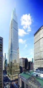 The rezoning for 1 Vanderbilt was used as a road map for the larger Midtown East plan. Photo: CoStar Group