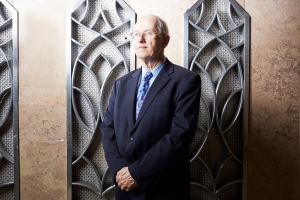 SLATTERY WILL GET YOU EVERYWHERE: Michael Slattery of REBNY has been looking at the data for 30 years to craft the figures into a story. Photo: Yvonne Albinowski/for Commercial Observer