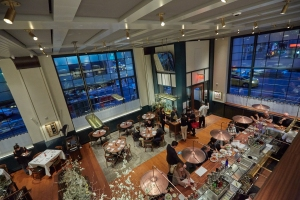A photo of the New Urban Square Cafe. Photo: Liam Sharp/For Commercial Observer