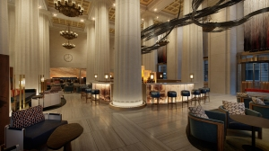 Rockwell's design of the Downtown Nobu. Photo: Rockwell Group