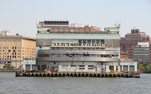 Pinsky played a major role in RXR's redevelopment of Pier 57 on the West Side.