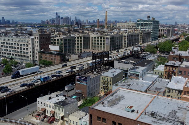 The current Gowanus Expressway. Photo: Getty Images