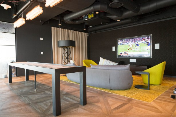 The space features rooms for table and video gaming. Photo: Kaitlyn Flannagan/Commercial Observer