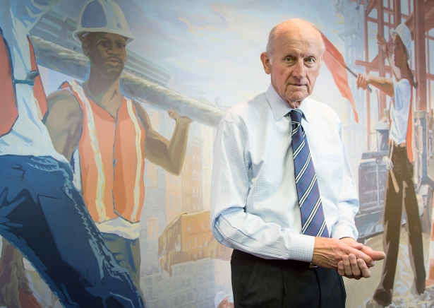 Richard Anderson spent 22 years leading the Building Congress before stepping down in December 2016. Photo: Kaitlyn Flanagan/Commercial Observer