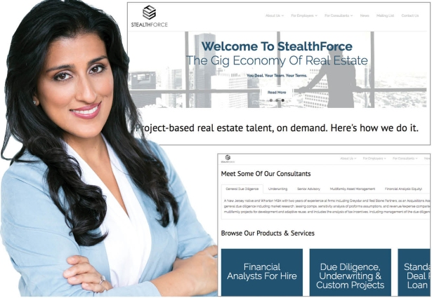 Poonam Mathis founded StealthForce about a year ago.
