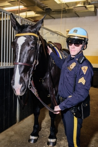 20170308  dsc9804 edit final web Mercedes Horsepower: The NYPD Horse Stable in a West Side Luxury Building