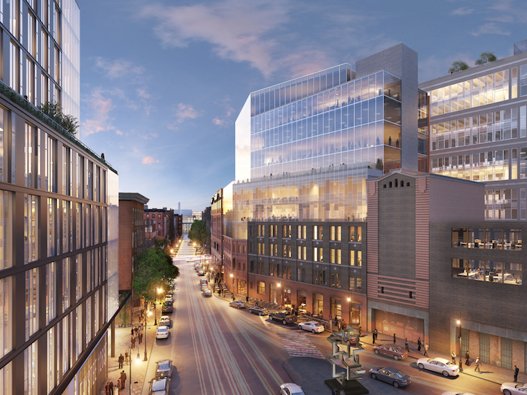 The planned expansion of the Malt House at 461 West 126th Street. Rendering: GLUCK+