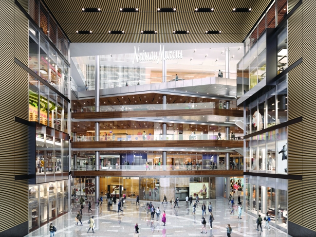 the great room the shops at hudson yards courtesy of related oxford West Side Story: The Tale of Hudson Yards