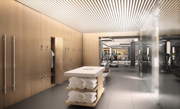 gk001 03 amenities lockerroom 04 The Plan: Park Tower Group Adding a Luxury Gym in Lower Level Space at 535 Madison Avenue