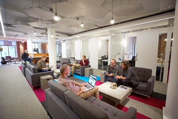 the yard city hall park coworking private office 130 Shared Space Provider The Yard Nabs $15M in Funding From IDB Bank