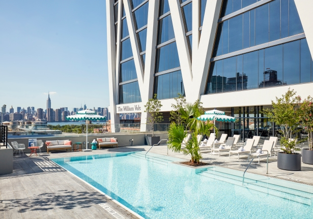 the william vale vale pool 7 City of Goldman: The Mysterious Developer Whos Transforming Brooklyn