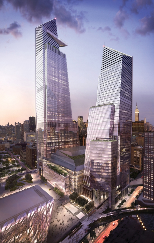 10 and 30 hudson yards with retail looking northeast c related oxford Delivering Amazon: This Is What's Right and Wrong With the Citys Pitches for HQ2