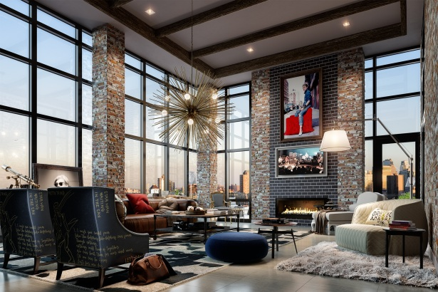 resident lounge A Former Golf Pro and a Doctor Have Some Serious Rhythm Going at 60 Fulton Street