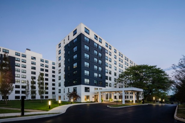 west buildings Candlebrook Nabs $110M Refi for King of Prussia Multifamily Complex