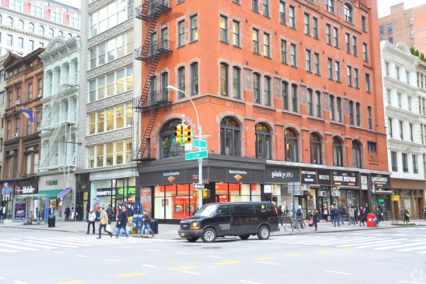186 fifth avenue photo costar group Bank of America Taking Four Retail Spaces on West 23rd Street