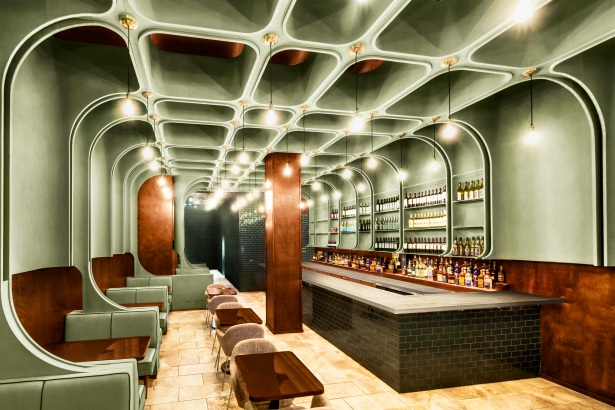 times square diner In the Limelight: Architect Antonio Di Oronzo Brings Flair to NYCs Hottest Clubs