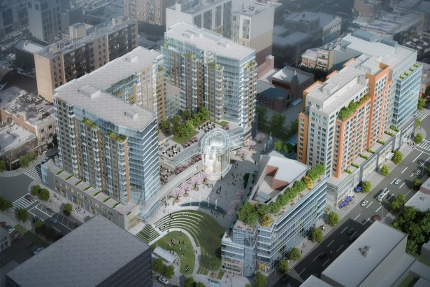 flushing commons aerial rendering New Rockefeller CEO Dan Moore on the Next Generation of the Company