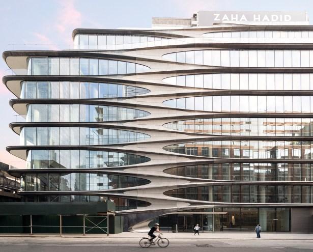 zaha exterior facade courtesy of tim schenck Hudson Yards