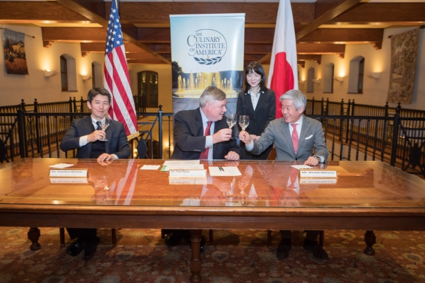 hires kazuhiro sakurai tim ryan hiroshi sakurai share sake toast Gotham Seeing Huge Influx of Retailers From Asia, and NYC Is Only the Beginning