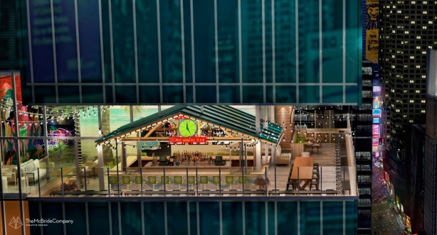 rendering 4 Margaritaville Holdings Strives for No Worries Vibe at Times Square Hotel