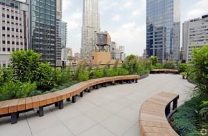 17 john street terrace deck credit costar ACORE Lends $75M to Refi 17 John Street in FiDi