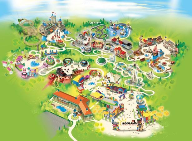 legoland new york map 60 Miles Northwest of NYC, $350M 150 Acre Lego Park Will Emerge