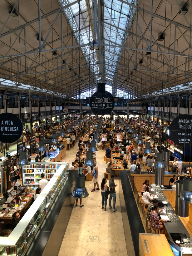 time out market lisbon photo cathy elkies Publishers Branch Out to Branded Food Halls Worldwide
