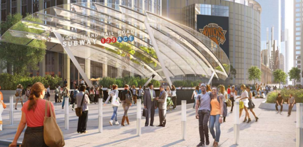 screen shot 2018 09 06 at 2 51 04 pm Cuomo Unveils New Penn Station Renovation Plans and 33rd Street Entrance