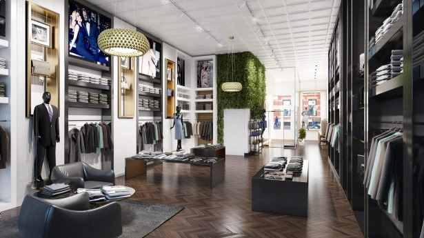 1813gld 119 121 spring st 119 storefront email Soho Retail Properties Refinanced With $54M Oaktree Loan