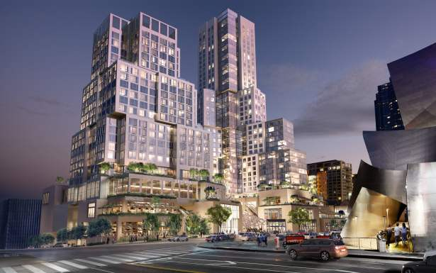 the grand rendering 02 image credit related companies Deutsche Bank Closes $630M Construction Loan for Related's $1B DTLA Development