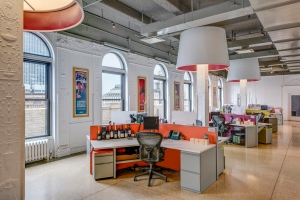 498 7th interiors 4 2 1 A Much Needed Makeover: Zoning Changes Make the Garment District Office Friendly