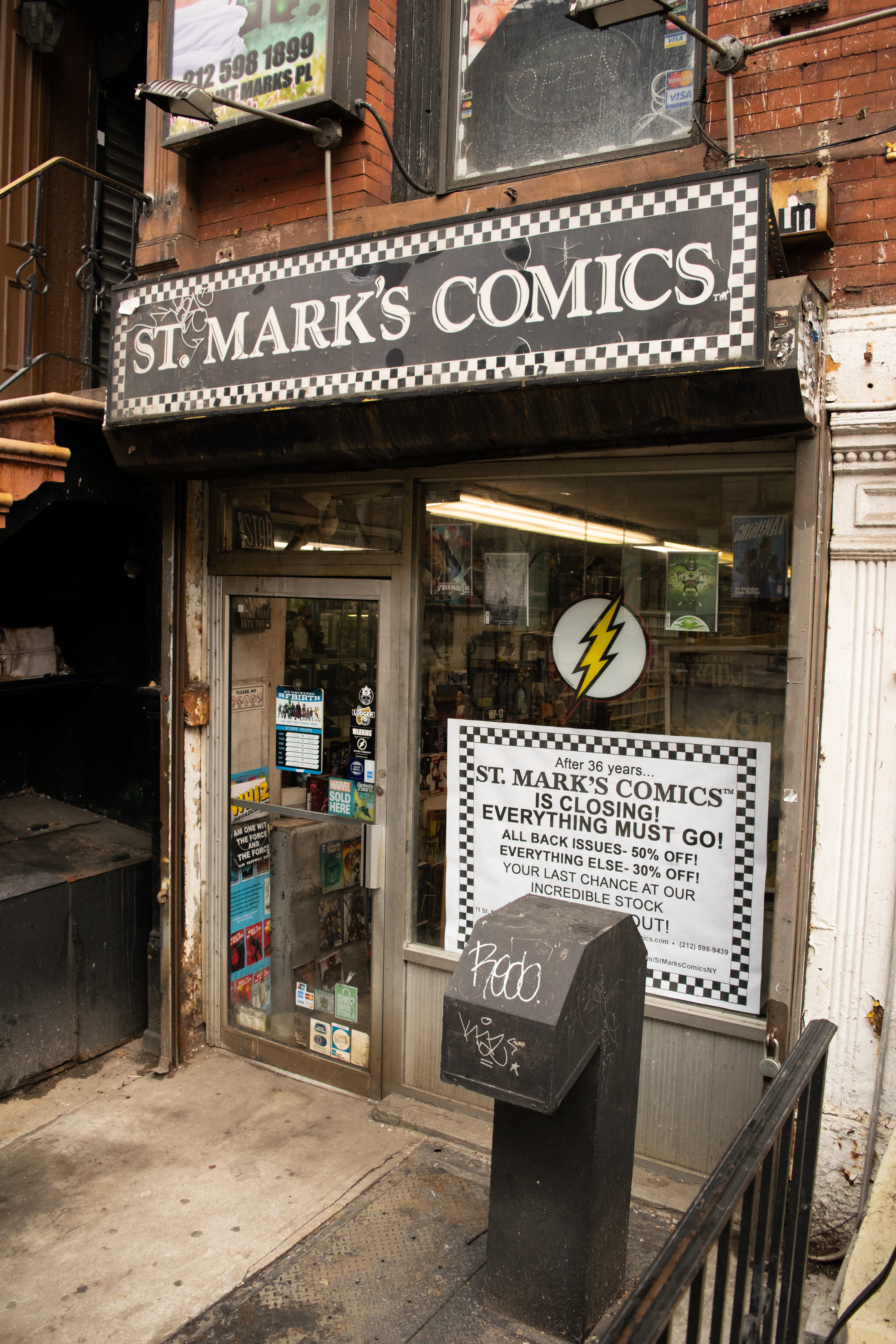 20190207 dsc 0026 St. Mark's Comics Felled by Rising Rents, but Real Kryptonite Is Catering to Diehards