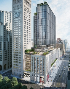 oma hero looking down The Power of One   SL Green Infuses History with Modernity at One Madison Avenue