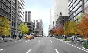 10th avenue streetscape New York City's Neighborhoods