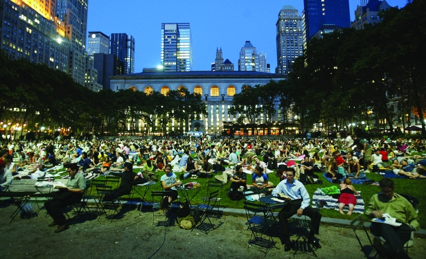 gettyimages 51029682 Life of Bryant: Bryant Parks Transformation Into the Center of Midtown