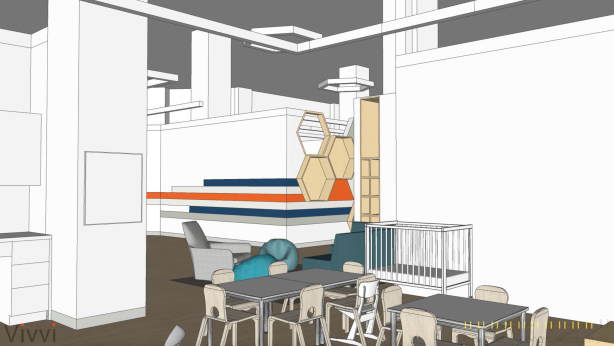 vivvi toddler classroom Corporate Childcare Provider Vivvi Plans First Preschool at One Hudson Square