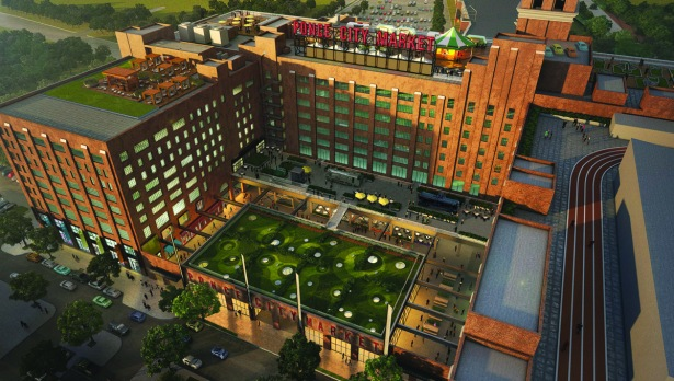 ponce city market 2015 Rising SunTrust: How Kathy Farrell Has Put the Banks CRE Lending on the Map
