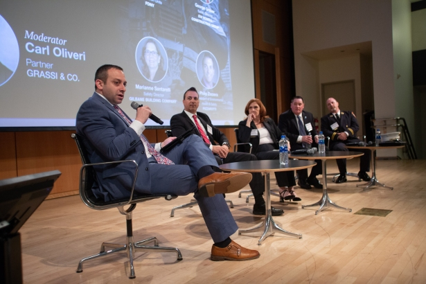 safetysecondpanelcreditaaronadler Construction Leaders Hopeful on New Rules, Outlook for Safety