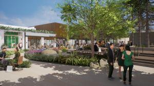 sl rendering 1 The Plan: Historic Sportsmen's Lodge in Studio City Gets Retail Upgrade