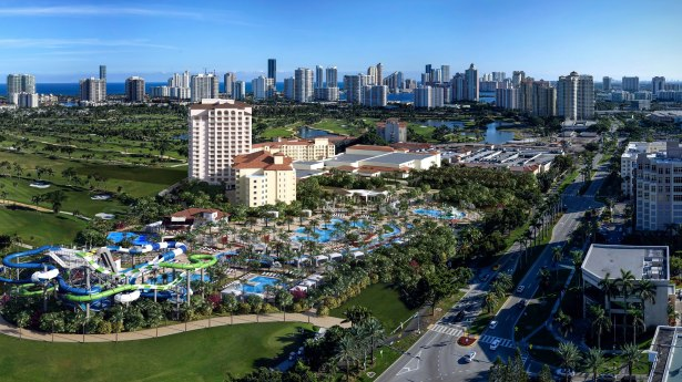 jw marriott miami waterpark Bank of China Provides $340M Refi for Miami JW Marriott Resort [Updated]